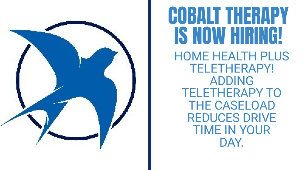 Cobalt Therapy is now hiring!